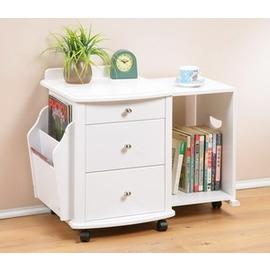 【C&B】萬用伸縮式床頭收納櫃