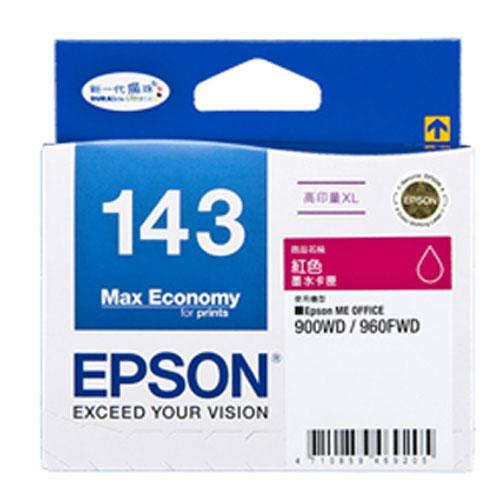 【EPSON 墨水匣】T143350 紅色原廠高印量XL墨水匣