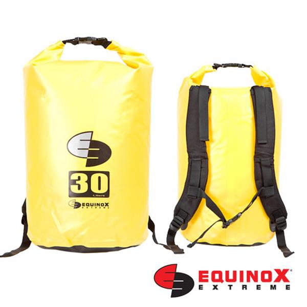 【鄉野情戶外用品店】 EQUINOX |美國| 雙肩防水袋背包/防水包 溯溪包 泛舟-黃/131125 【容量30L】