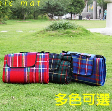 【親親寶貝】樂活防水頂級加厚舒適絨毛野餐墊 加大200*150cm