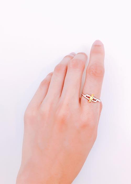 韓國飾品,小鳥造型戒指