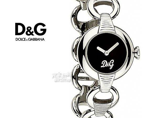 【完全計時】手錶館│D&G 摩登時尚 鍊帶淑女 杜嘉班?D&G 雪精靈 推薦 DW0342
