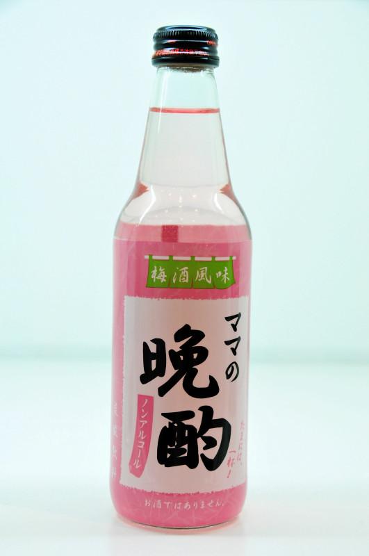 [期間限定] 晚酌碳酸飲料-媽媽日本梅酒風味 340ml