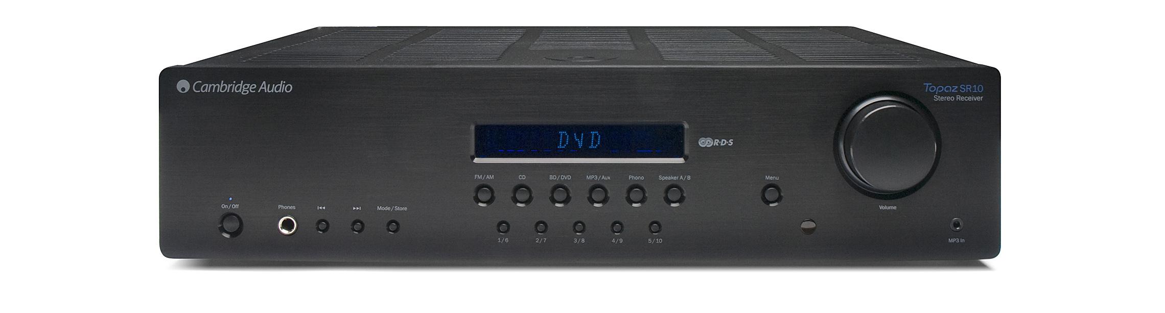 【Topaz SR10 綜合擴大機】 Cambridge Audio 英國劍橋音響 家庭劇院 CD BD AV 擴大機 數位串流 收音機