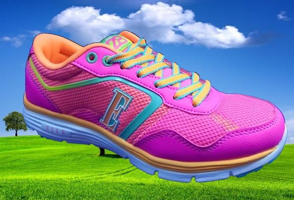 法國名牌 ELLE 名牌大童 童鞋 女款 ELKR50013 -陽光運動館