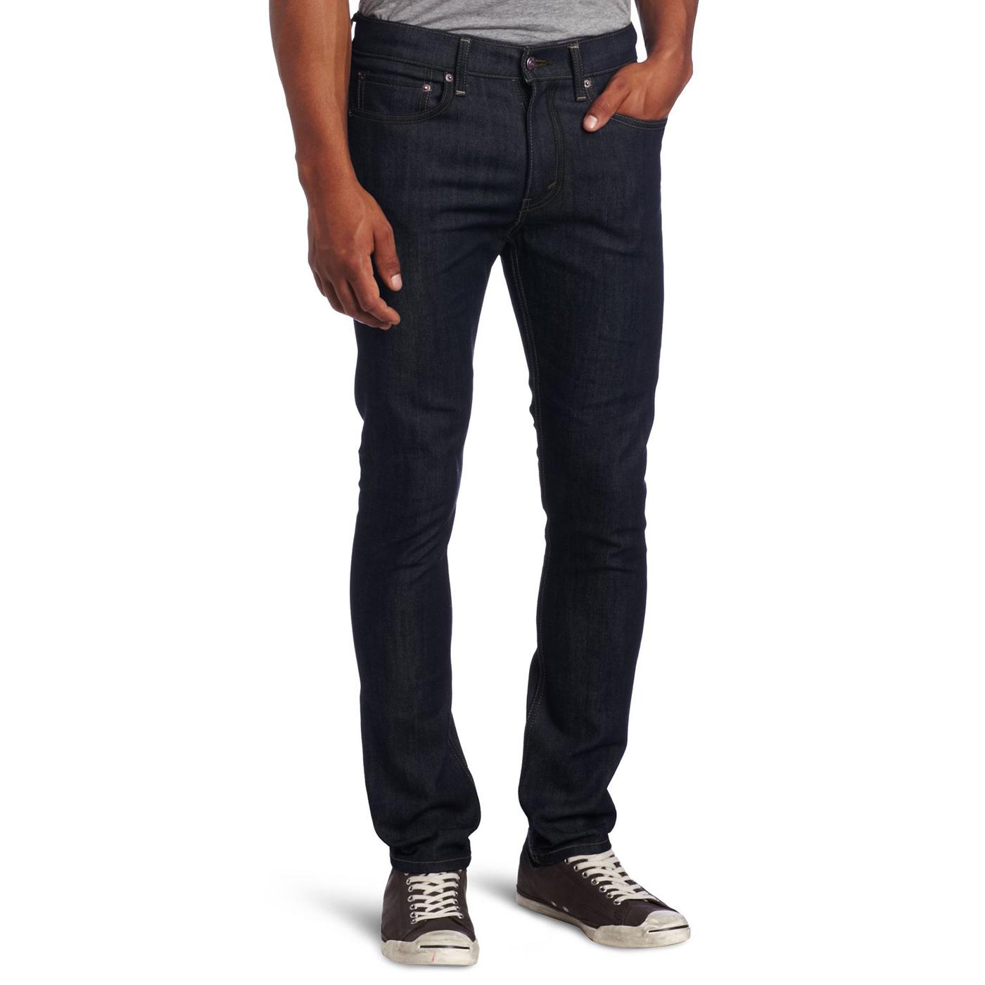 美國百分百【全新真品】Levis 510 Skinny Fit 男 牛仔褲 直筒 窄版 單寧 靛藍色 31腰 E283