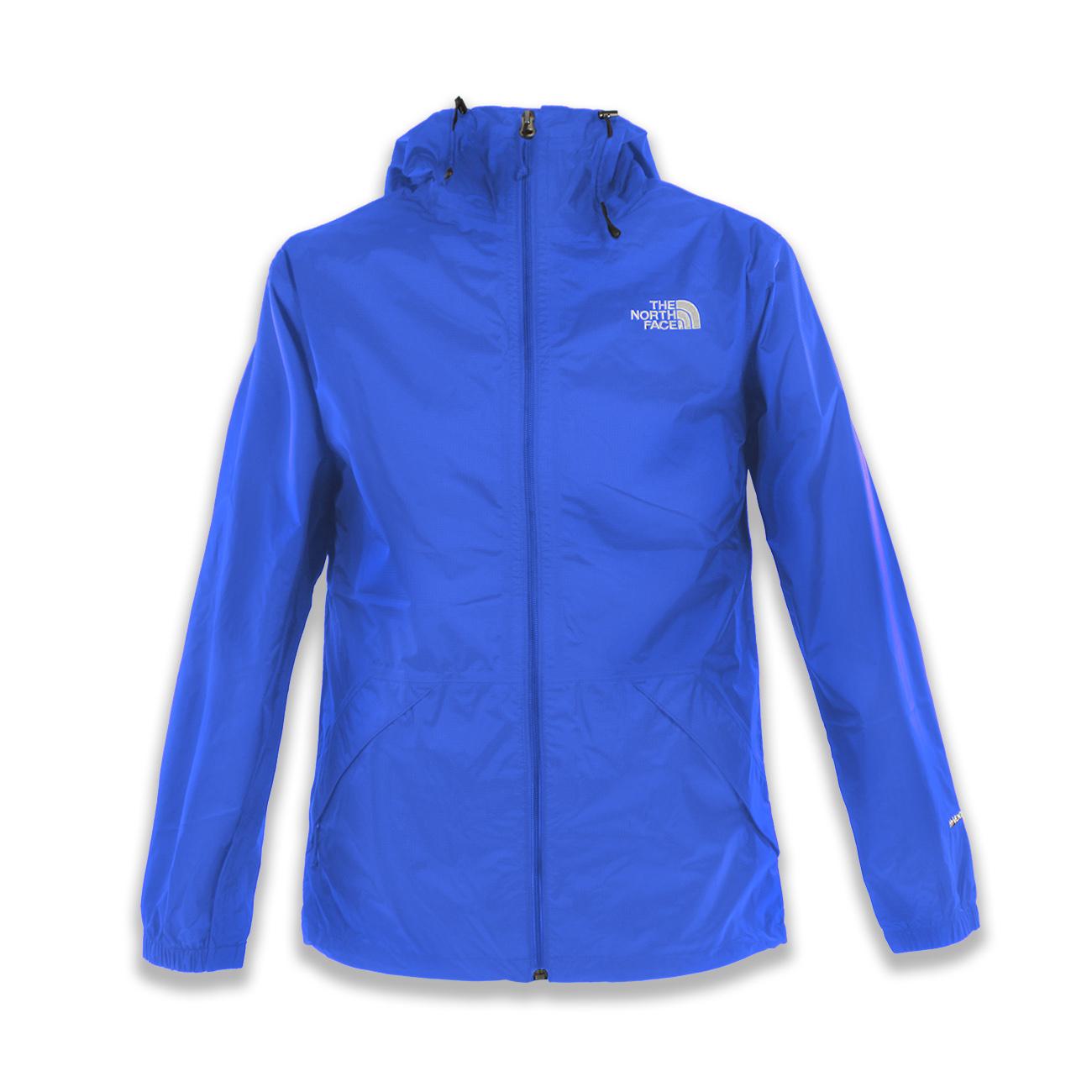 美國百分百【全新真品】The North Face 外套 TNF 北臉 防雨 防風 防水 藍色 XS號 E415