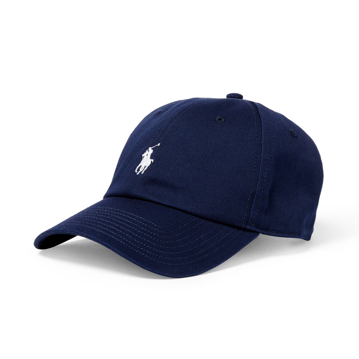 美國百分百【全新真品】Ralph Lauren 帽子 RL 配件 棒球帽 Polo 小馬 帆布 刺繡 男 深藍 A732