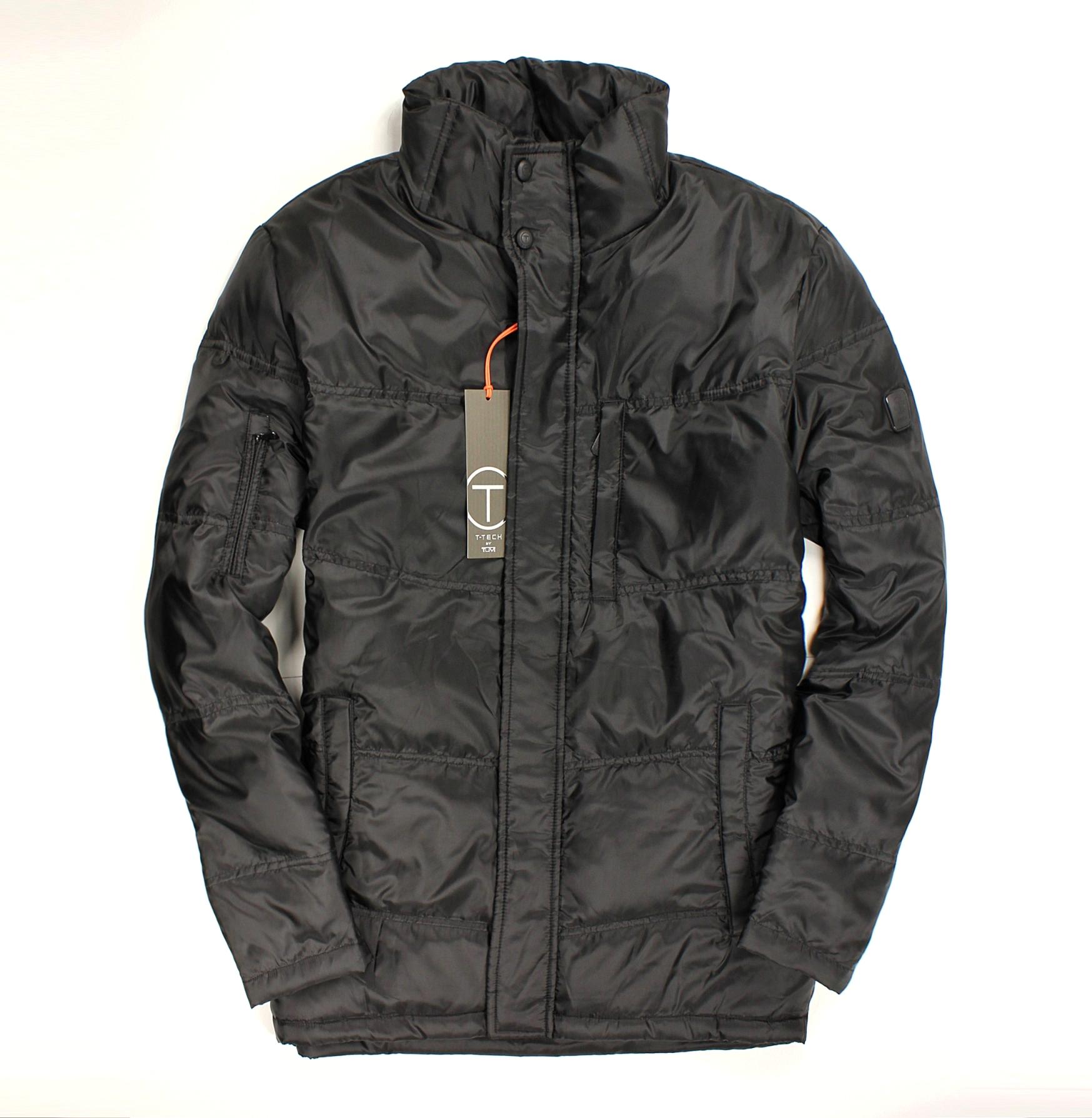 美國百分百【全新真品】Tumi 外套 T-tech 羽絨外套 夾克 立領 黑 保暖 厚 出國 滑雪 機能 男 S M號