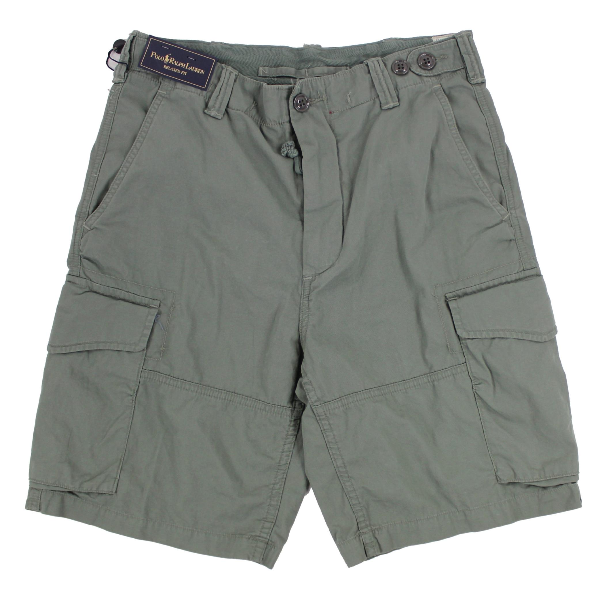 美國百分百【全新真品】Ralph Lauren 褲子 RL 男褲 POLO 短褲 工作褲 淡綠色 30腰 E111
