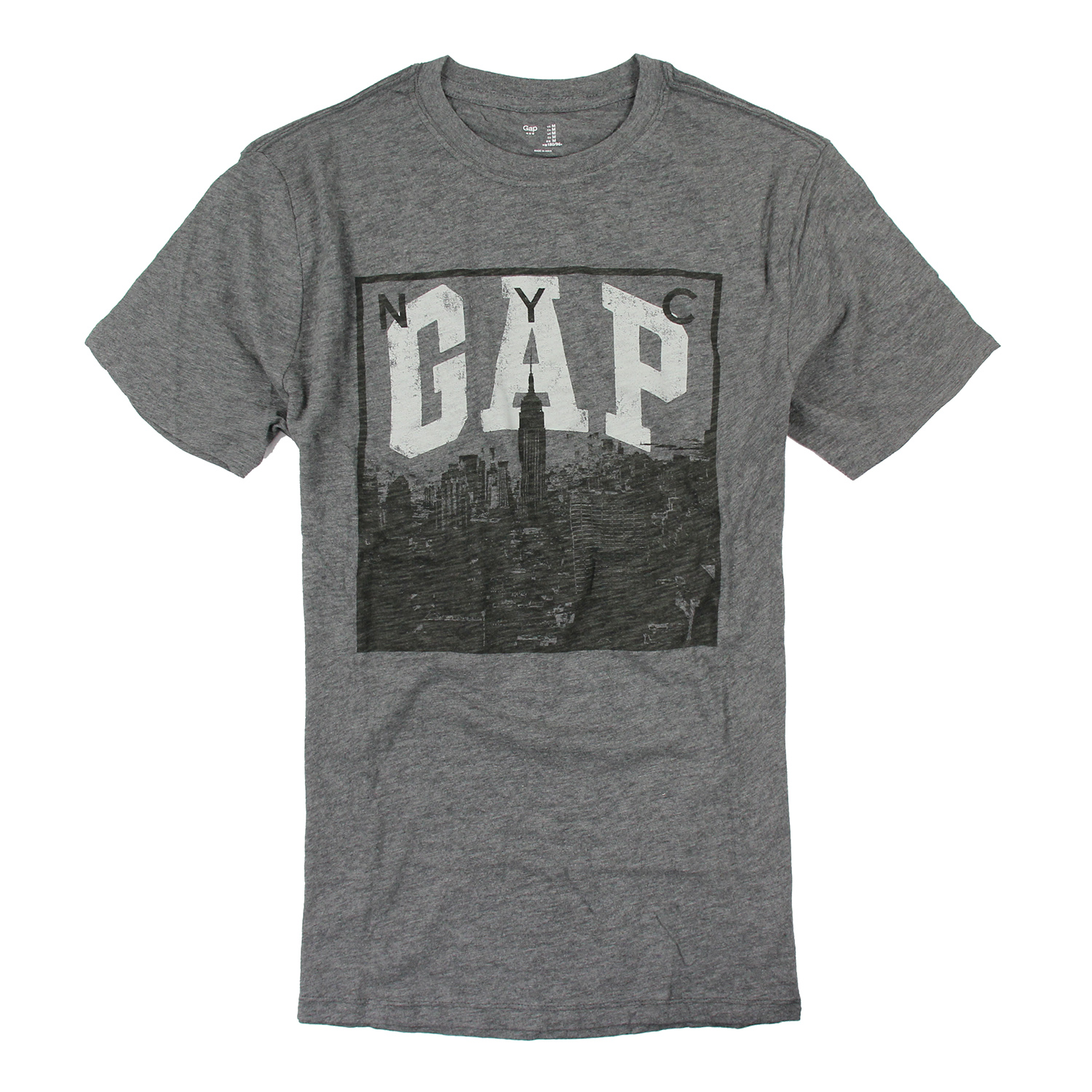 Gap t t shirt nyc m f009 for Gap usa t shirt