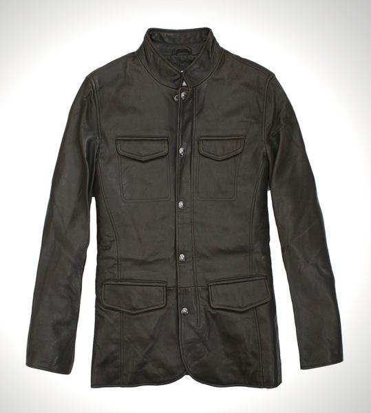 美國百分百【全新真品】Calvin Klein CK 男 外套 夾克 皮衣 風衣 咖啡 兩件式 英倫 免運 S M號