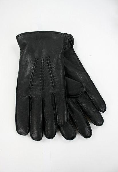 美國百分百【全新真品】Clarks 克拉克 棒球紋 縫線手套 騎士手套 真皮皮革 黑色 M號 現貨