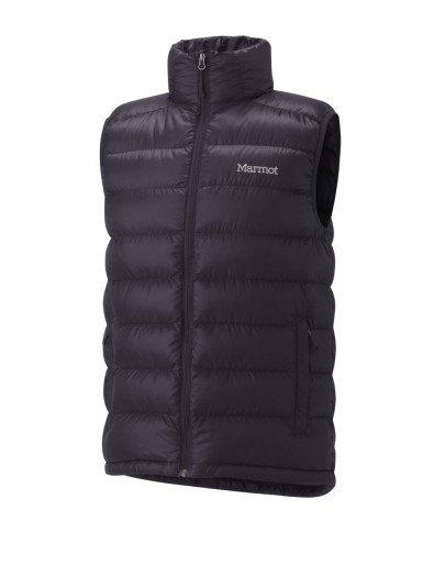 美國百分百【全新真品】Marmot 登山品牌 羽絨 保暖 背心 運動背心 輕巧 男 女 黑色 M號 門市