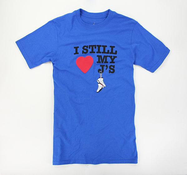 美國百分百【全新真品】Jorden 愛喬丹 球鞋 設計款 短袖 T恤 T-shirt Tees 寶藍 S號 1500免運
