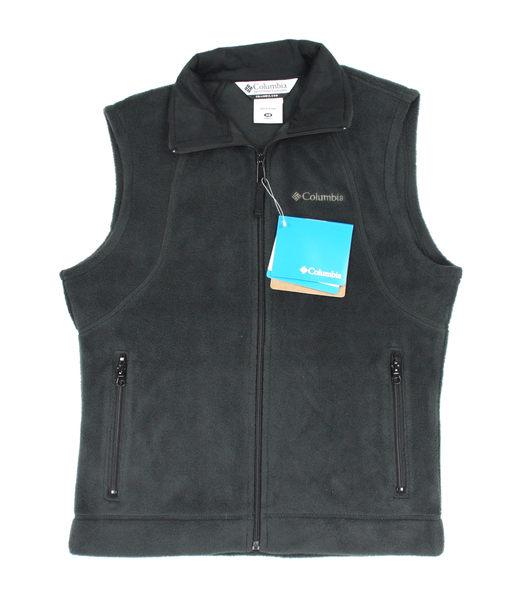 美國百分百【全新真品】Columbia 哥倫比亞 女生 棉質 保暖背心 鋪棉 鐵灰 上衣 超取