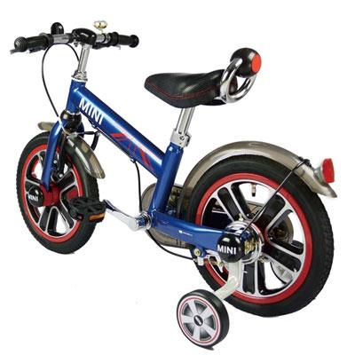 【悅兒樂婦幼用品?】MINI COOPER 兒童14吋腳踏車(藍色) - RSZ1401