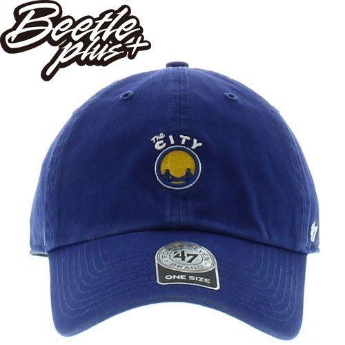 BEETLE 47 BRAND 老帽 金州 勇士 GOLDEN STATE WARRIORS DAD 總冠軍 NBA 藍 MN-391