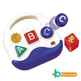 [ Baby House ] 音樂積木ABC(潛能學習音樂玩具)【愛兒房生活館】