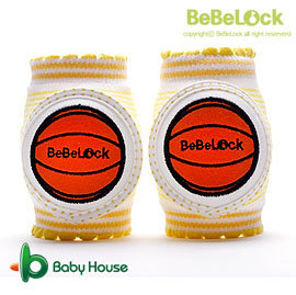 [ Baby House ] BeBeLock 韓國進口寶寶護膝【籃球射手】Yellow B68-026C【愛兒房生活館】