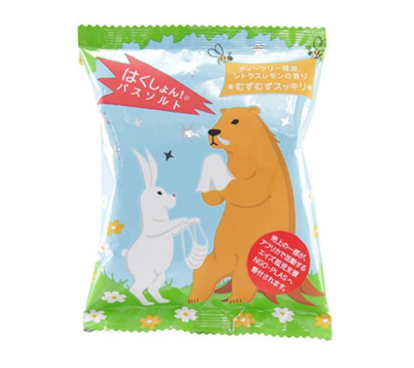 CHARLEY 哈啾!敏敏舒緩入浴劑(茶樹+薄荷) 55g(效期至18.07)