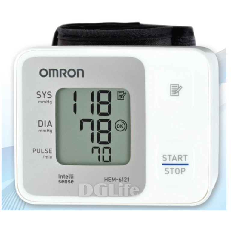 HEM-6121 歐姆龍手腕式電子血壓計