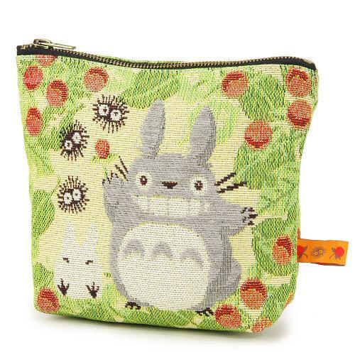 【真愛日本】 15012300003 戈布蘭織化妝包-森林莓果 龍貓 TOTORO 豆豆龍 收納包 正品 限量