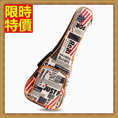 烏克麗麗包 ukulele琴包配件-23吋加厚迷彩報紙帆布手提背包保護袋琴袋琴套69y13【獨家進口】【米蘭精品】