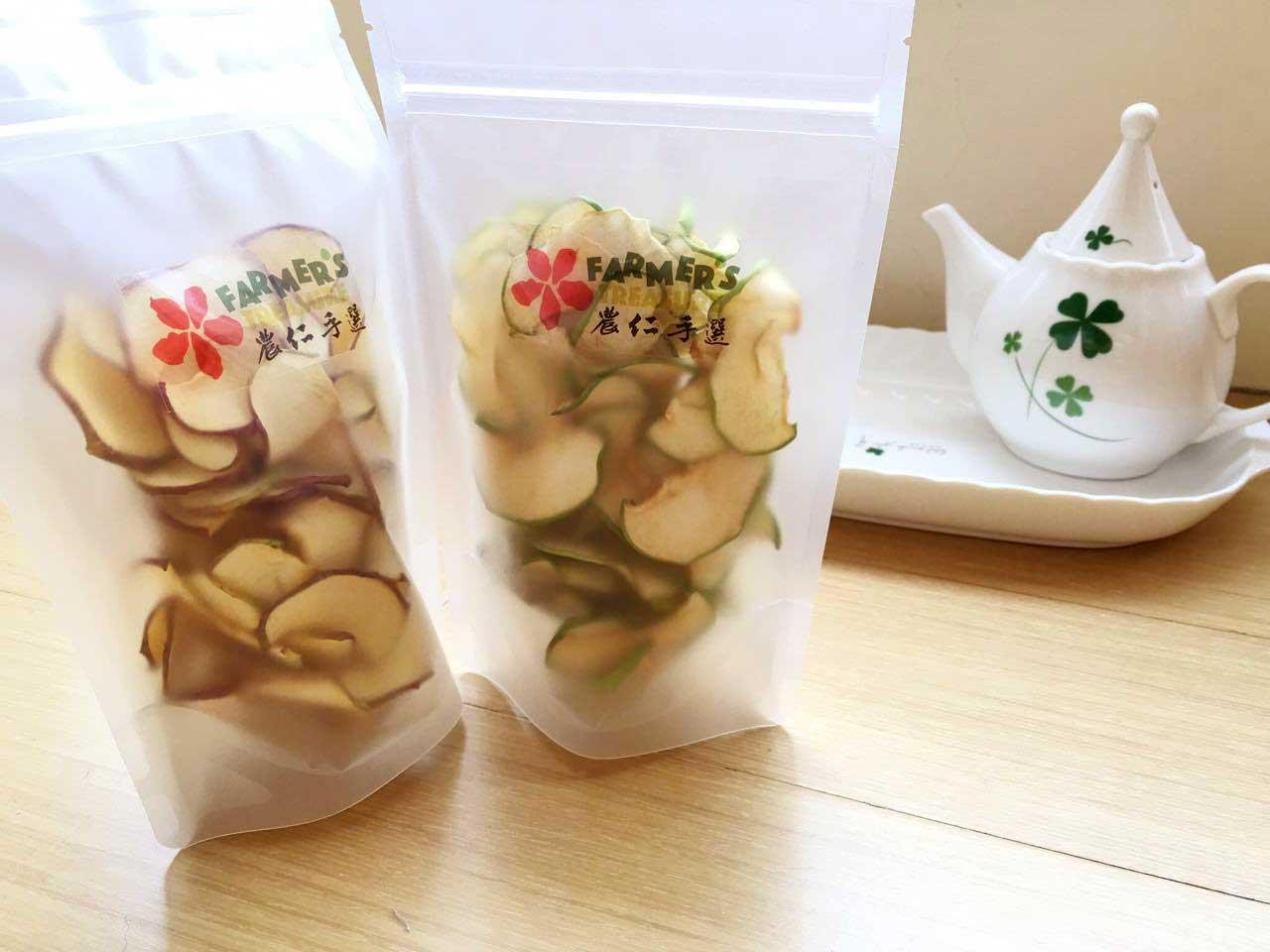 農仁手選 青蘋果乾 清爽零食系列 (50g/包) (滿10包免運)