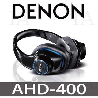 【DENON耳機】AH-D400 耳罩式耳機 搖滾尖峰耳罩式耳機