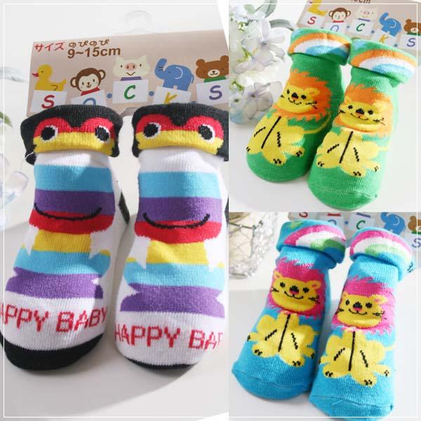 魔法Baby~可愛立體造型襪(b.e.f)~嬰幼兒用品~時尚設計~k01450~b