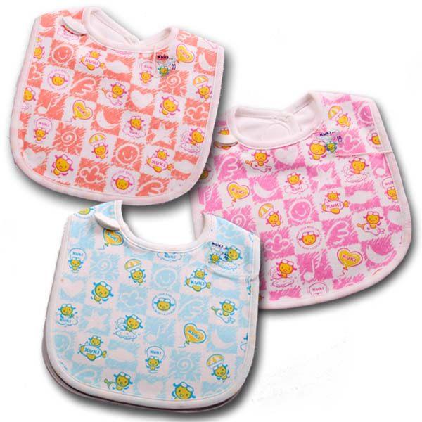 魔法Baby ~台灣製造KUKI酷奇柔軟嬰兒圍兜~嬰兒用品~k21007