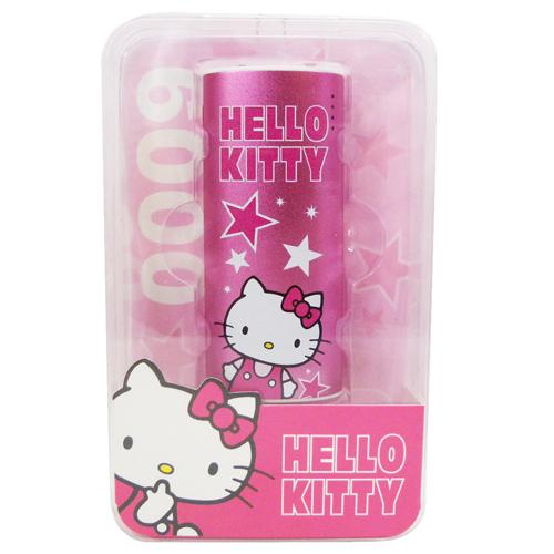 【真愛日本】15072500007 行動電源-KT星星粉 三麗鷗 Hello Kitty 凱蒂貓 3C周邊 行動電源