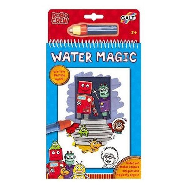 英國GALT 神奇水畫冊 Water Magic -機器人款