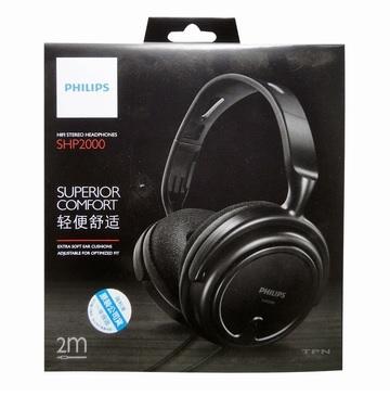 PHILIPS 高音質耳罩式耳機 (SHP2000)