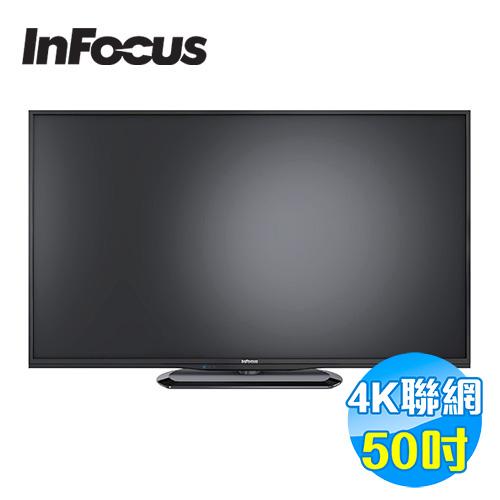鴻海 INFOCUS 50吋 4KUHD連網液晶顯示器 FT-50IA601