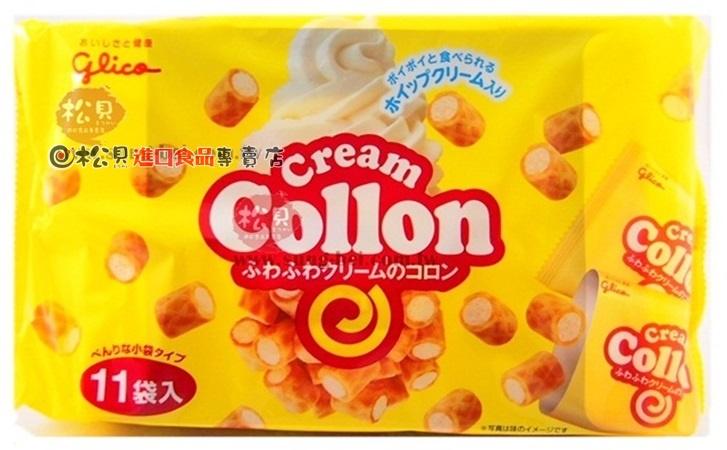 固力果可榮酥奶油捲心餅11袋148g【4901005104075】