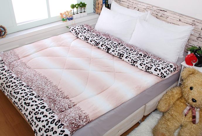 法萊絨/法蘭絨暖暖被/厚毯被 豹紋時代《GiGi居家寢飾生活館》