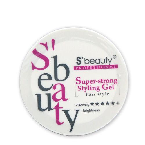 S beauty 萱妮貝媞 超強力造型膠60g