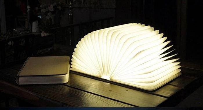 【尚品傢俱】※自運價※Q-876-04 創意木質LED摺疊書燈/Lamp/造型燈/小夜燈/藝術燈/美術燈/情趣燈