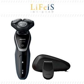 日本原裝 PHILIPS 飛利浦【S5211】電動刮鬍刀 三刀頭 水洗 浴室使用 鬢角刀 海外