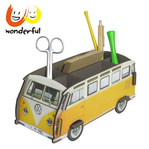 Werkhaus 福斯VW T1巴士筆座 (黃)
