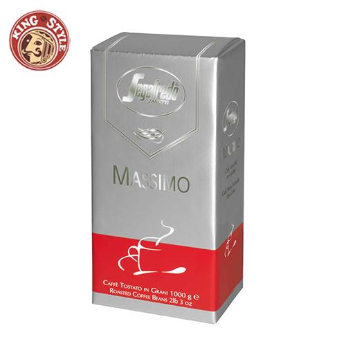 【Segafredo】Massimo 義式濃縮咖啡豆 1kg(2.2磅) /包
