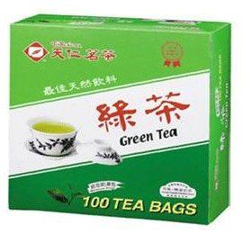 天仁茗茶防潮包(綠茶)100入