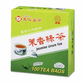 天仁茗茶防潮包(茉香綠茶)100入