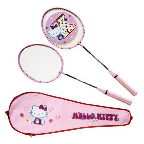 成功 Hello Kitty 雙人羽球拍組 A221 ~贈送尼龍羽球一顆
