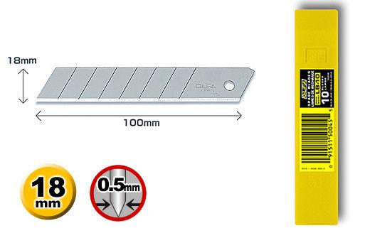 OLFA大型美工刀片LB-10(10片裝)