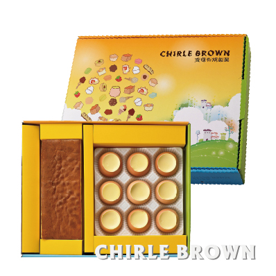 《查理布朗》幸福。甜蜜。點心樹 A禮盒