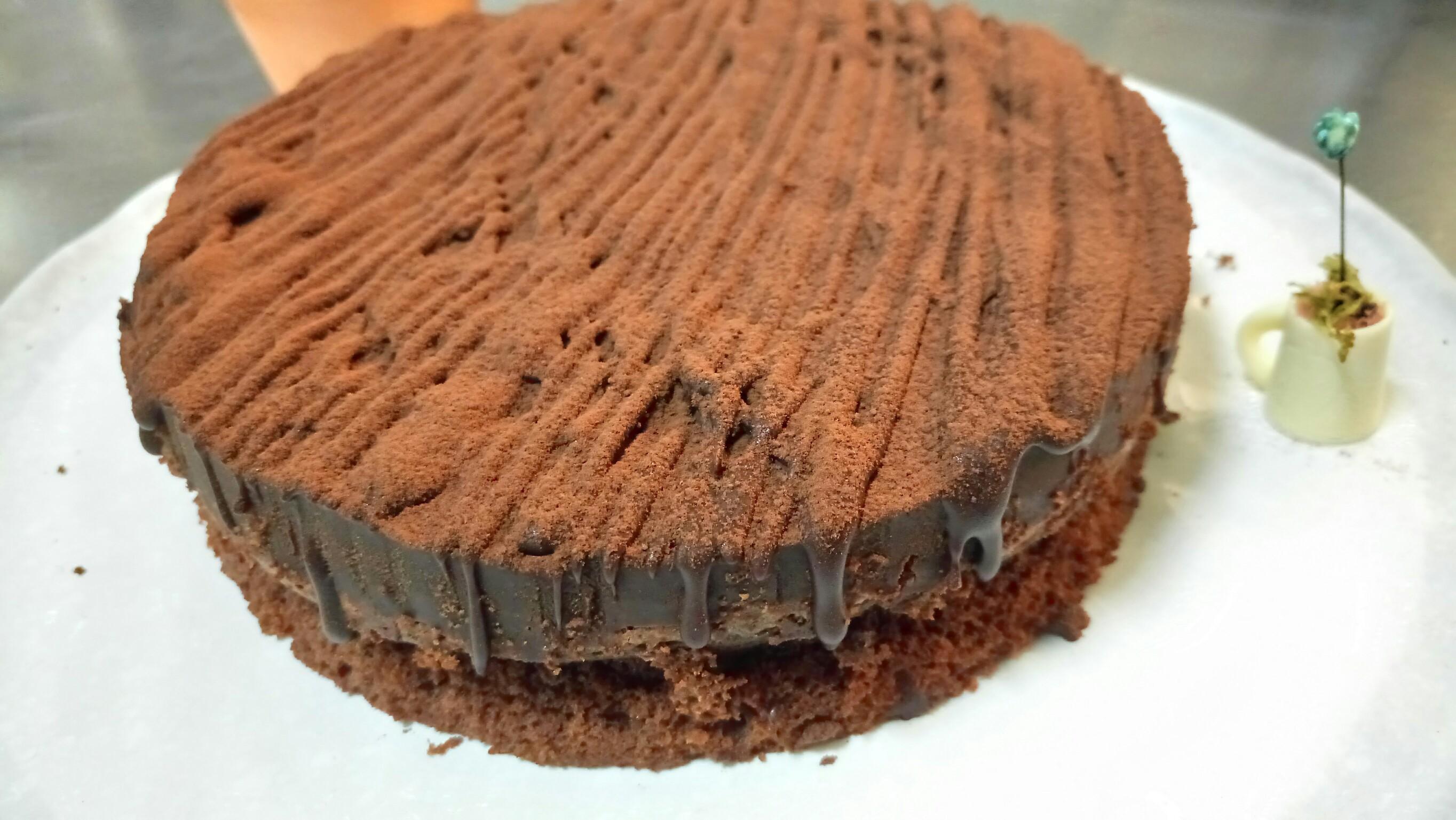 特濃法芙娜生巧克力布朗尼蛋糕