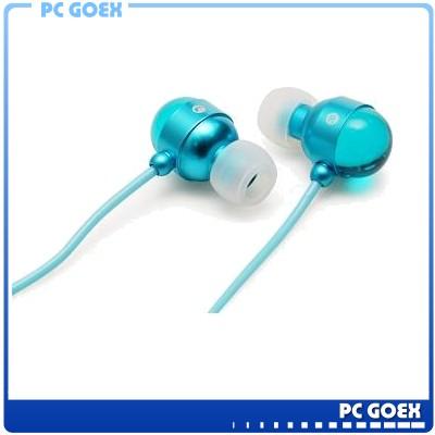 人因科技 E310 鋁合金高音質耳機-藍 ☆pcgoex 軒揚☆